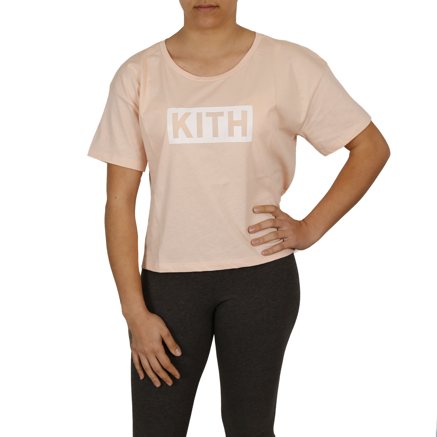 Kith T-Shirt W ( 18PEK102-173 ) ρούχα    γυναίκα   t shirts and μπλούζες