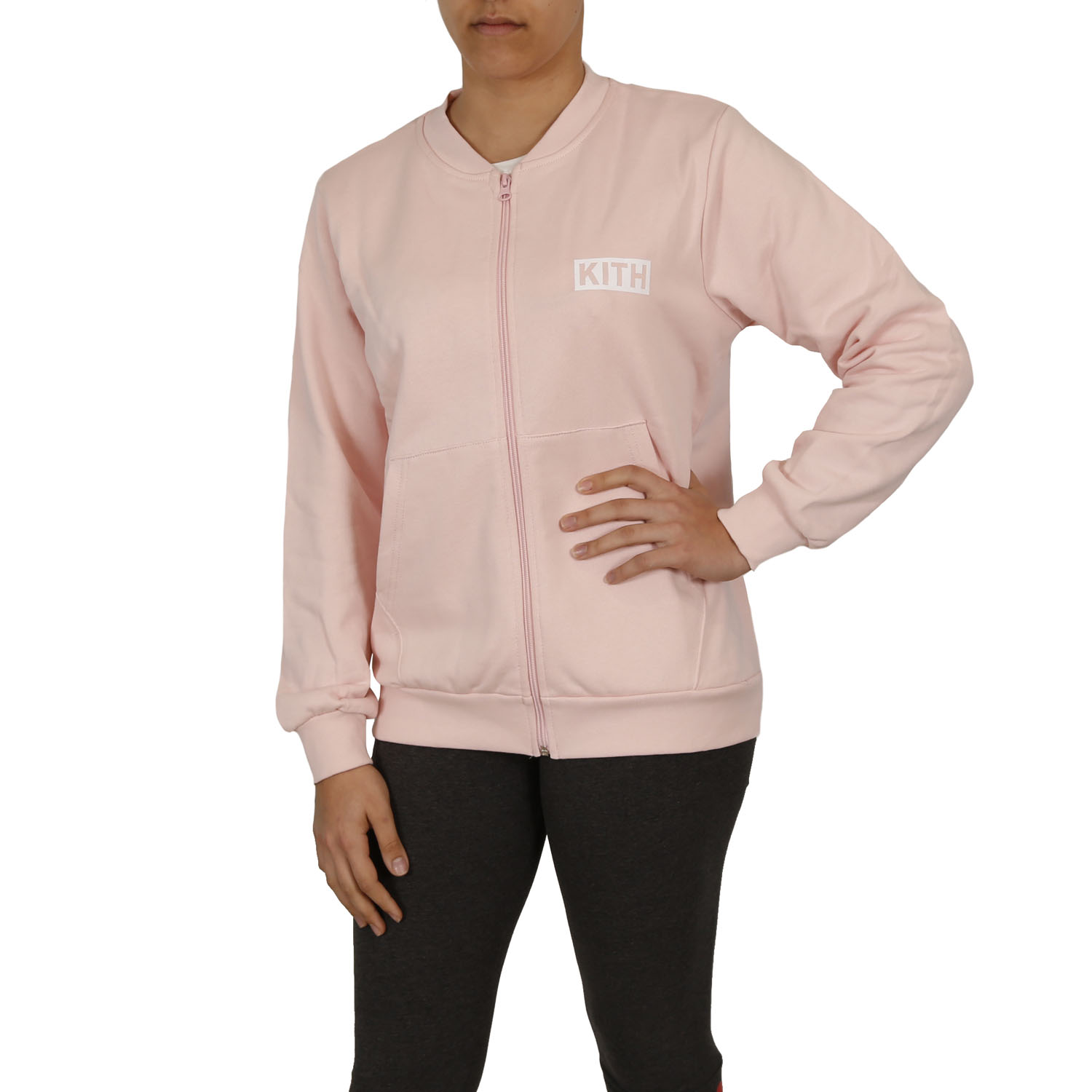 Kith Bomber Track Top W ( 18PEK112-173 ) ρούχα    γυναίκα   sweaters   hoodies   ζακέτες