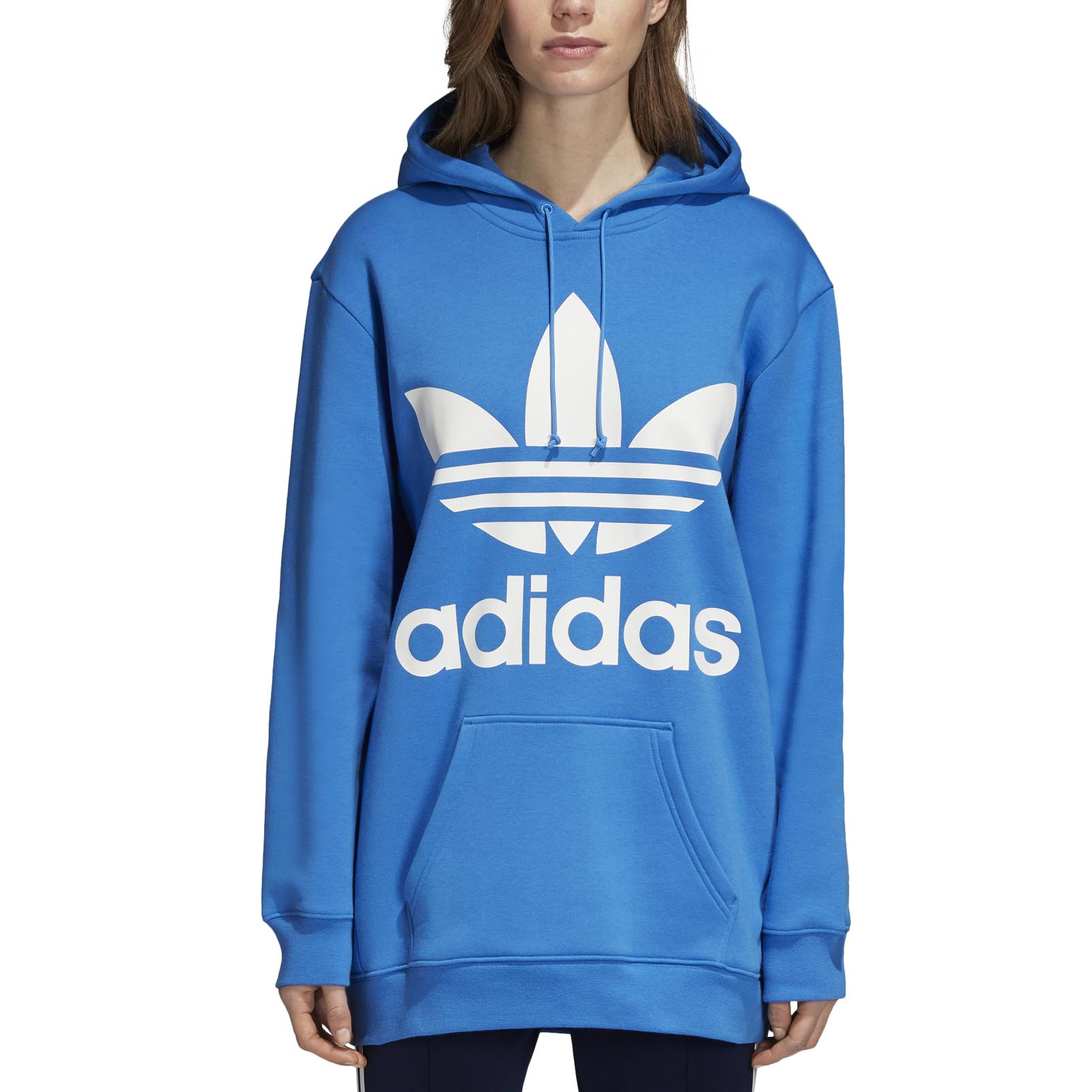adidas Originals Oversize Trefoil Hoodie W ( DH3181 ) ρούχα    γυναίκα   sweaters   hoodies   ζακέτες