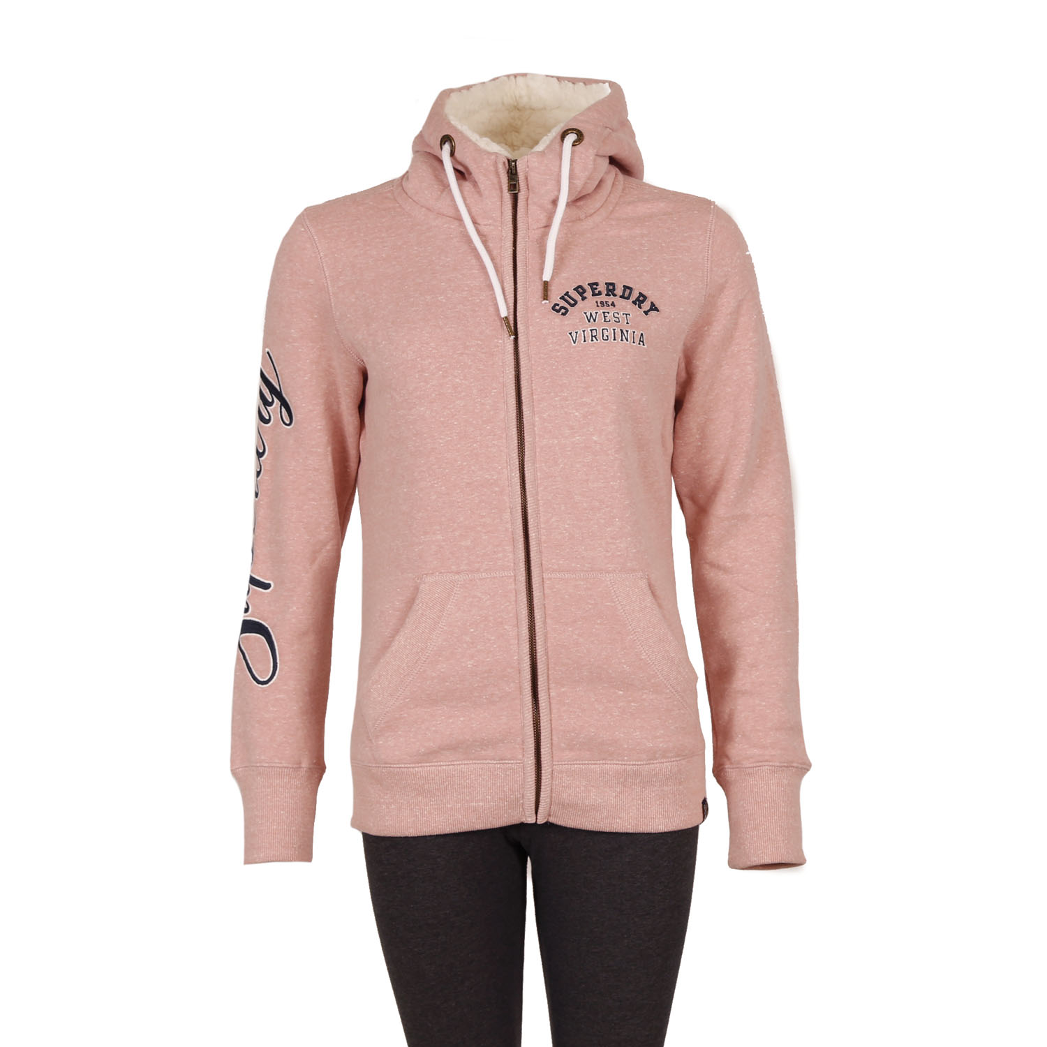 Superdry Aria applique Hoodie W ( G20002AR-WK6 ) ρούχα    γυναίκα   sweaters   hoodies   ζακέτες