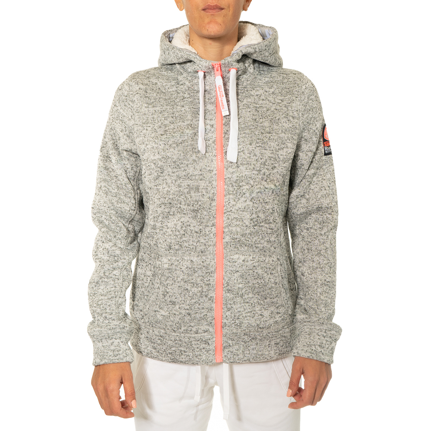 Superdry Storm Colour Pop Full Zip Hoodie W ( G20013AR-XS9 ) ρούχα    γυναίκα   sweaters   hoodies   ζακέτες