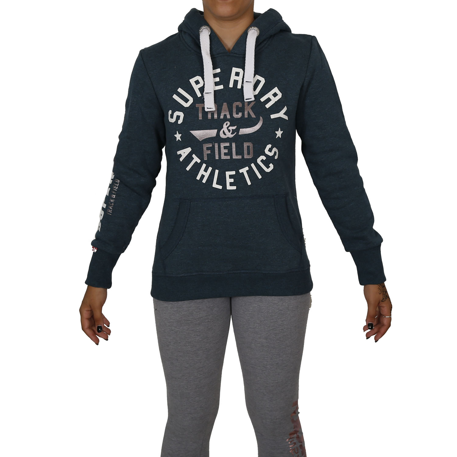 Superdry Track and Field Hoodie W ( G20017APF4-KW1 ) ρούχα    γυναίκα   sweaters   hoodies   ζακέτες