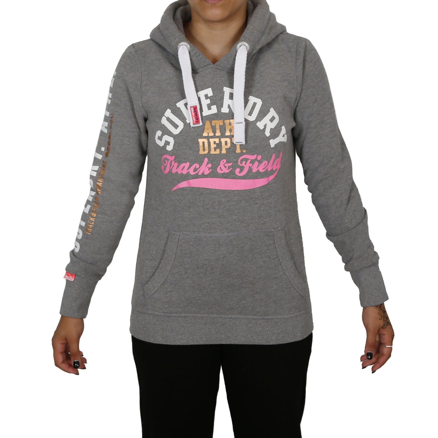 Superdry Track and Field Hoodie W ( G20017APF4-GF2 ) ρούχα    γυναίκα   sweaters   hoodies   ζακέτες