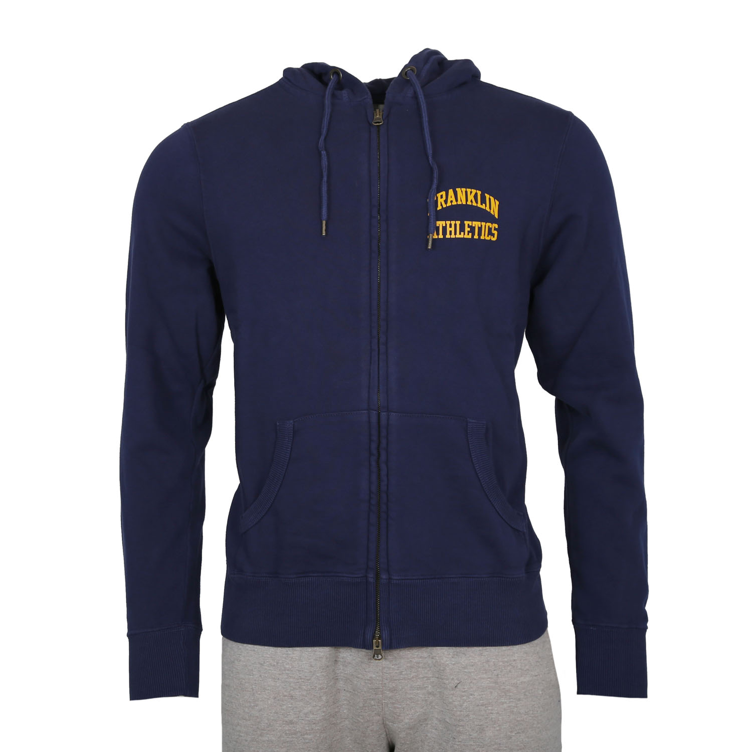 Franklin and Marshall Hoody M ( FLMF125XNAW7-0167 ) ρούχα    άνδρας    sweaters   hoodies   ζακέτες