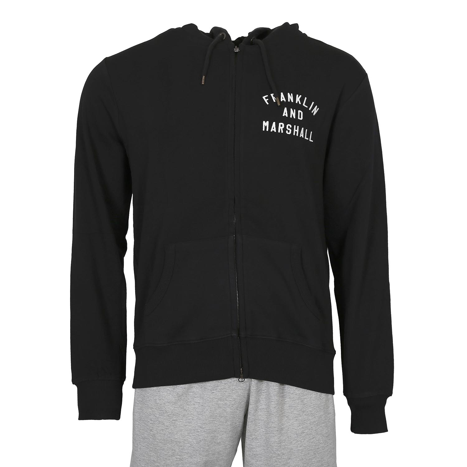 Franklin and Marshall Hoody M ( FLMF240ANW17-0021 ) ρούχα    άνδρας    sweaters   hoodies   ζακέτες