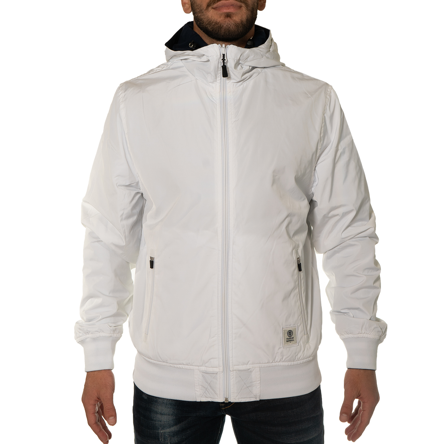 Franklin and Marshall Zipped Hoodie M ( JKMF408ANW18-0167 ) ρούχα    άνδρας    sweaters   hoodies   ζακέτες