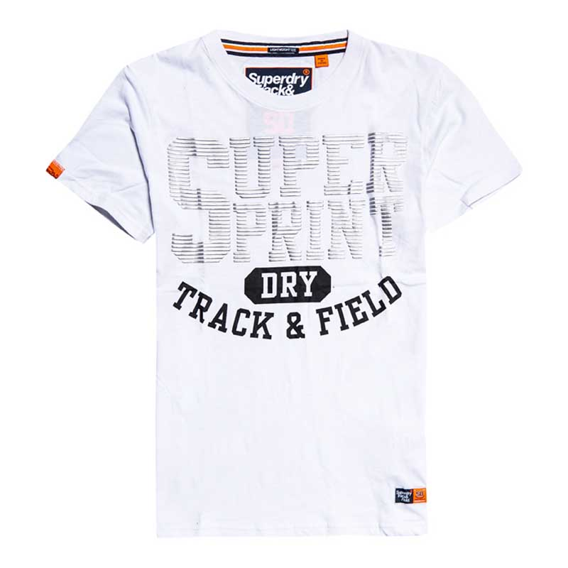 Superdry Track and Field Lite Metallic T-Shirt M ( M10107AT-01C ) ρούχα    άνδρας    t shirts
