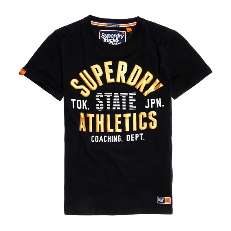 Superdry Track and Field Lite Metallic T-Shirt M ( M10107AT-02A ) ρούχα    άνδρας    t shirts