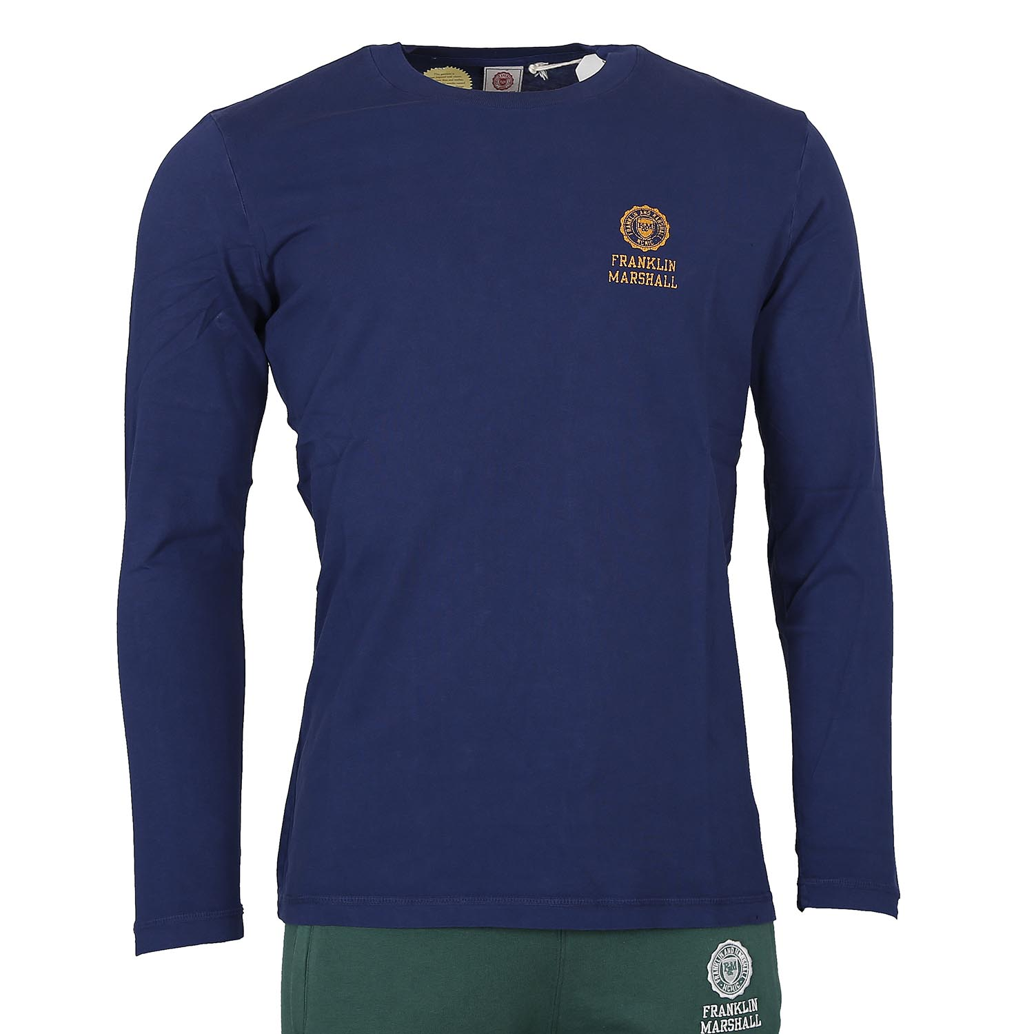 Franklin and Marshall Long Sleeve Tee M ( TSMF350KNW17-0021 )